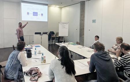 Hamburger Immobilien Wert GmbH Workshop zum Thema Kerprozess-Optimierung. Teamwork ist gefragt.