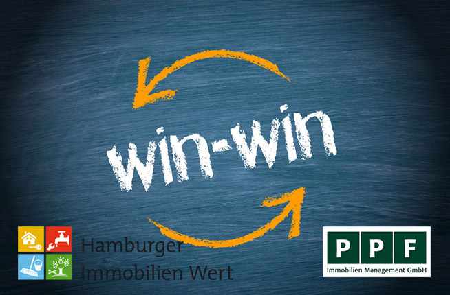 PPF Immobilien Management GmbH und Hamburger Immobilien Wert GmbH - Eine klassische Win-Win Partnerschaft.